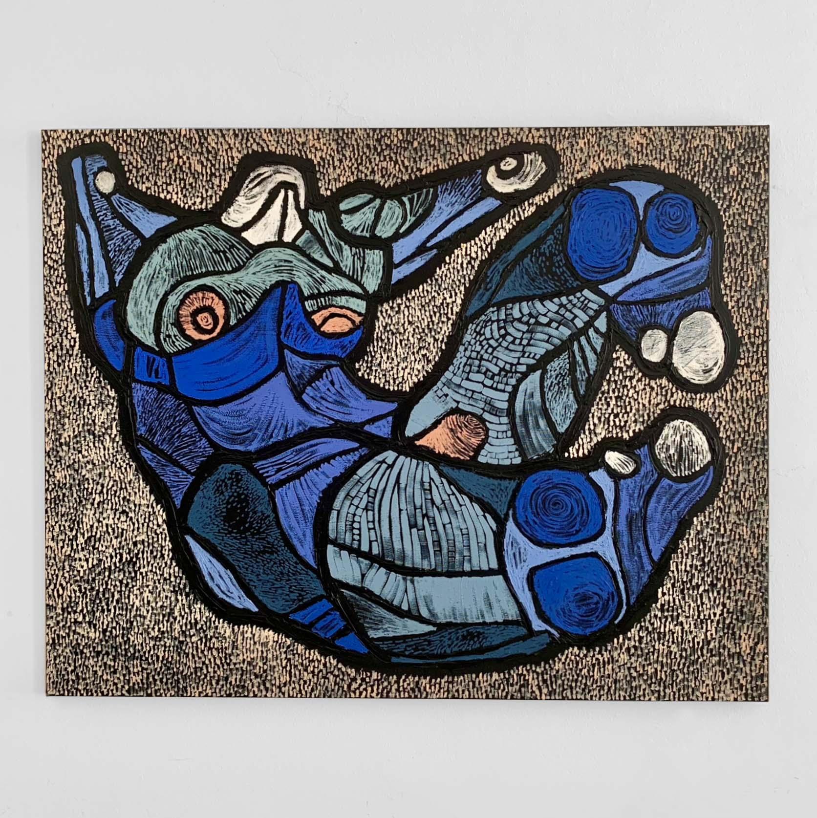 BLUE BOY – 120 X 95 CM
